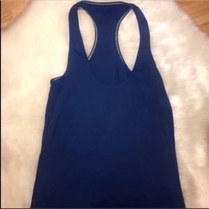 Lululemon Cool Racerback Rank, Dark Royal Blue, 2